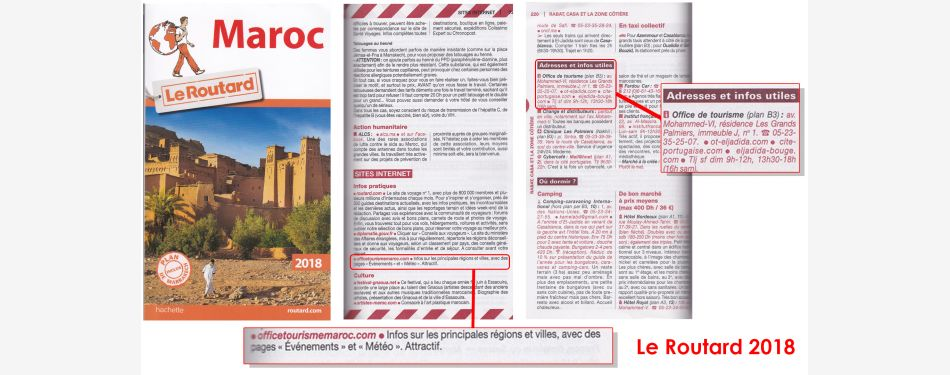le routard guide international maroc tourisme