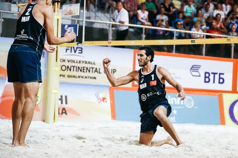 le championnat arabe de beach volley 25e edition evenement sport eljadida bouge