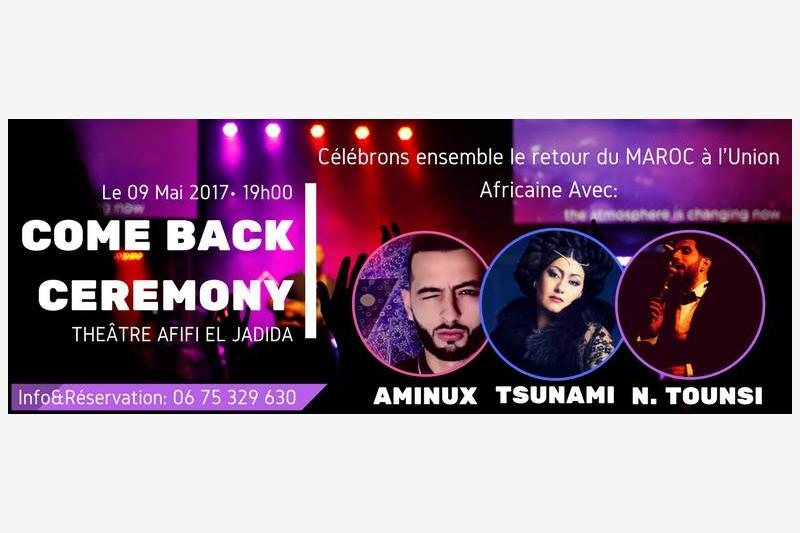 come back ceremony theatre afifi el jadida