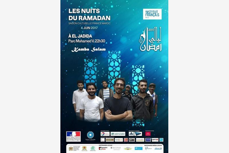 concert kamba el jadida maroc layali ramadan eljadida bouge