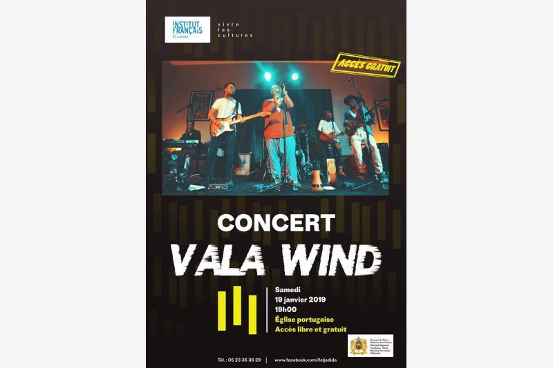 concert vala wind institut francais el jadida