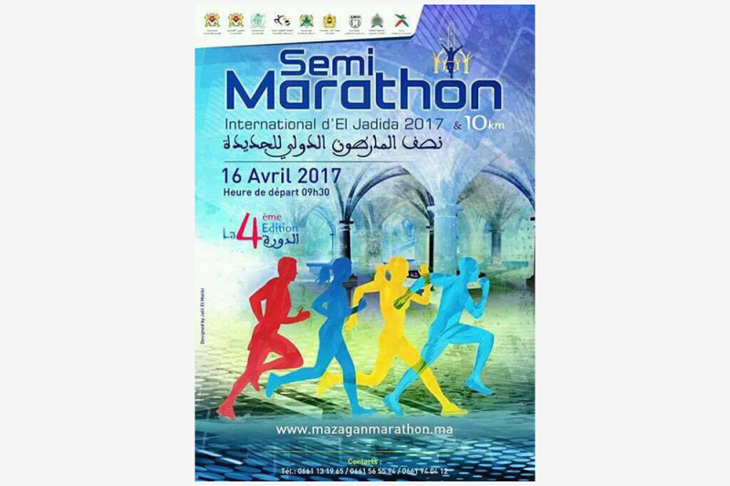 semi marathon international del jadida 2017