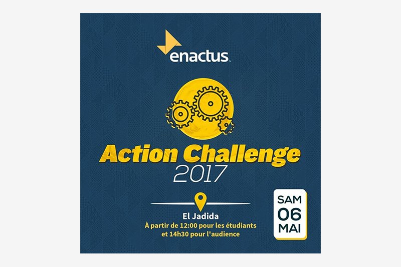 enactus action challenge 2017 el jadida bouge