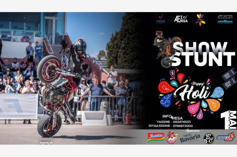 mister jobdada s bike stunt show el jadida