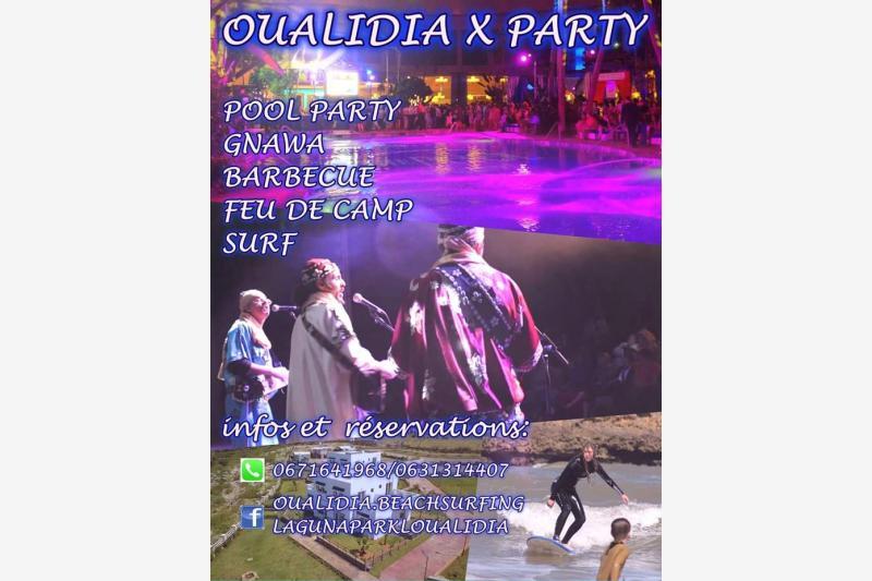oualidia x party oualidia laguna park eljadida