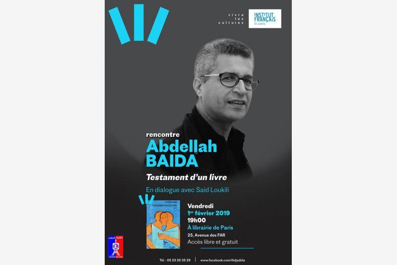 rencontre abdellah baida organise par institut francais el jadida