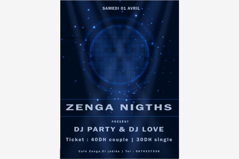 zenga night evenement festival eljadida bouge