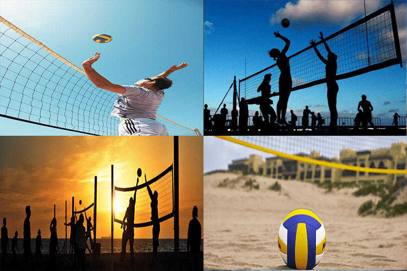 beach, volley, activite, sport, el, jadida, bouge