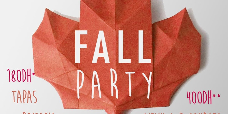 FALL PARTY by FRNCH TOUCH au resto-bar asiatique The Blue Heaven