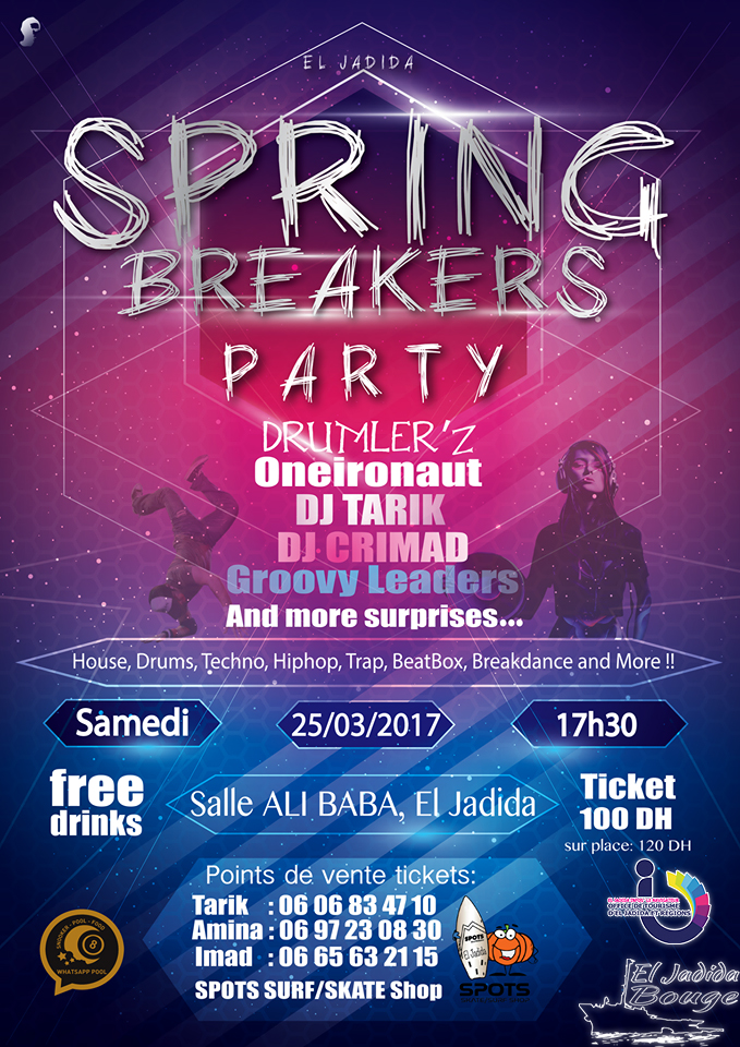 Spring Breakers Party